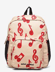 Notes school bag - sacs a dos - beige