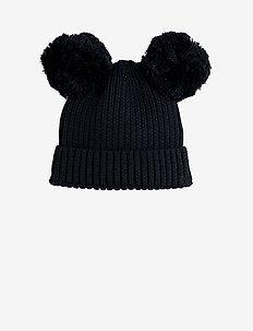 Ear hat - mützen - black