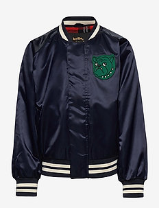 Bulldog baseball jacket - bombowiec - navy
