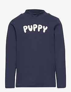 Puppy sp ls tee - dlugi-rekaw - navy