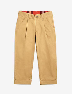 Twill chinos - trousers - beige