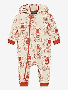 Lajka aop onesie - jumpsuits - offwhite