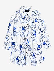 Lajka woven shirt dress - dresses & skirts - offwhite