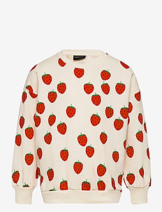 Strawberry aop sweatshirt - sweatshirts - offwhite