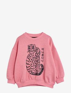 Tiger sp sweatshirt - sweatshirts - pink