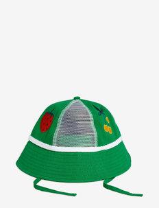 Mesh sun hat - solhattar - green