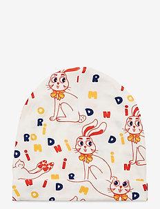 MR rabbit aop beanie - hatter og hansker - offwhite