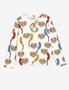 E.T. aop grandpa - langärmelig - offwhite