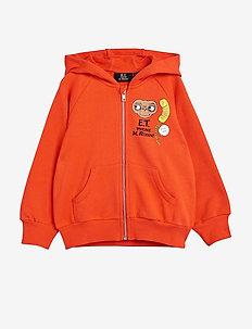 E.T. sp zip hoodie - kapuzenpullover - red