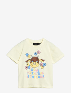 Wow cow sp tee - kortermede - offwhite