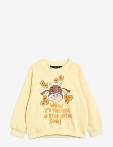 Wow cow sp sweatshirt - sweatshirts - yellow