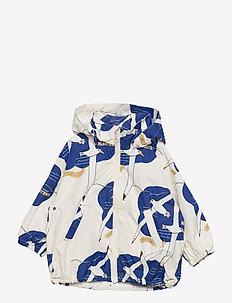 Albatross windbreaker - shell jackets - offwhite