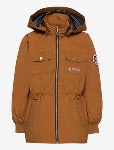 Shell jacket - shell jackets - brown