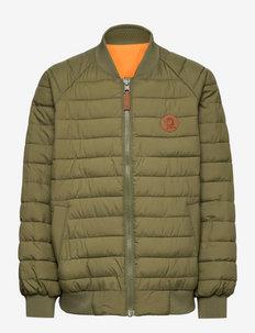Beaver  insulator jacket - bomberjacks - green