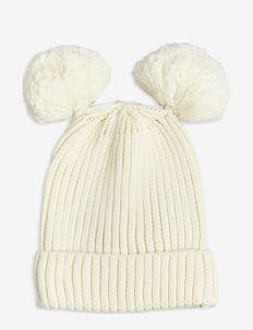 Ear hat - beanie - offwhite
