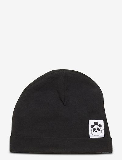 Basic beanie - hatte og handsker - black