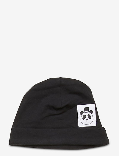 Basic baby beanie - hatte og handsker - black