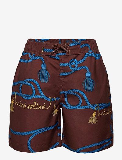 Rope swimshorts - zwembroeken - brown