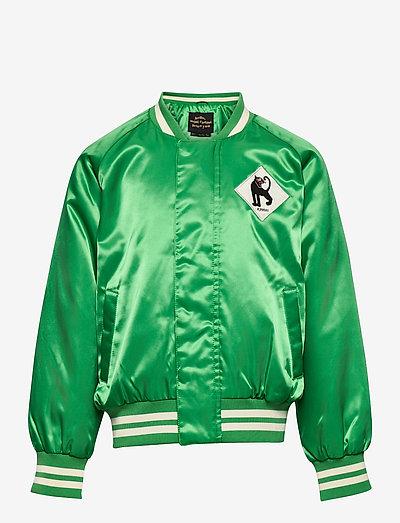 Panther baseball jacket - bomberjacks - green