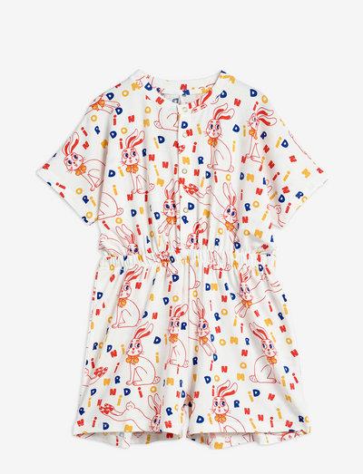 MR rabbit aop summersuit - jumpsuits - offwhite