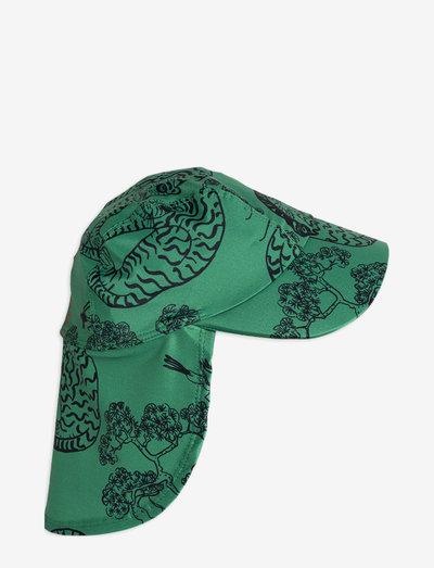 Tigers uv cap - solhat - green