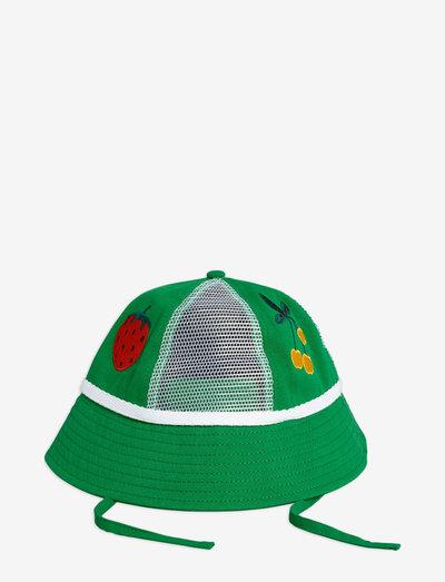 Mesh sun hat - solhat - green