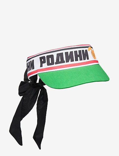 Moscow bow tie visor - huer & kasketter - green