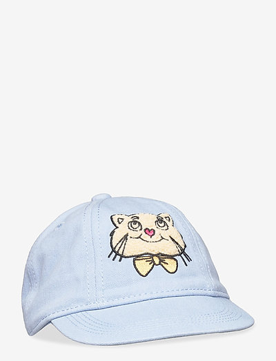 Cat soft cap - huer & kasketter - light blue