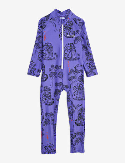 Tigers uv suit - uv-zwempak - purple