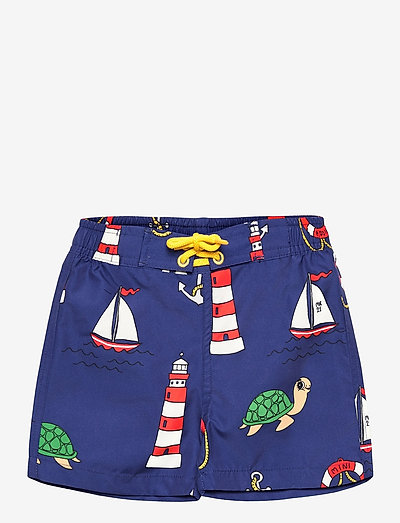 Turtle float swim shorts - badehosen - navy