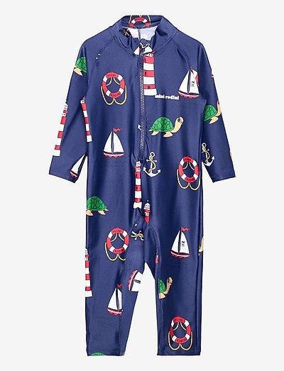 Turtle float uv suit - uv-clothing - navy