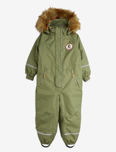 Kebnekaise overall - snowsuit - green