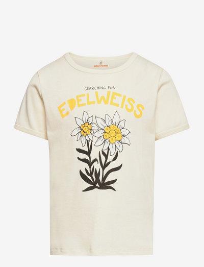 Edelweiss sp ss tee - kortærmede - offwhite