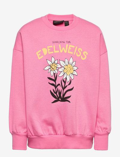 Edelweiss sp sweatshirt - sweatshirts - pink
