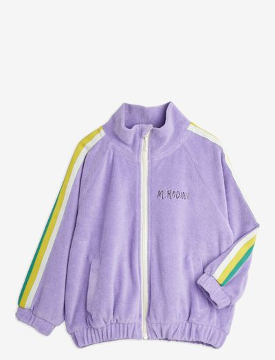 Terry jacket - sweatshirts - purple