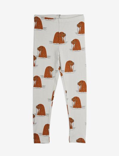 Walrus aop leggings - leggings - grey