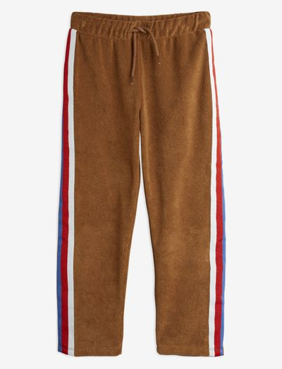 Terry trousers - sweatpants - brown
