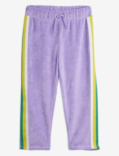 Terry trousers - sweatpants - purple