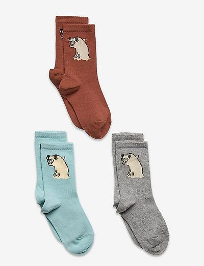 Polar bear socks 3-pack - sokken - multi