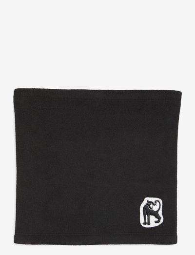 Microfleece snood - tubetørklæder - black