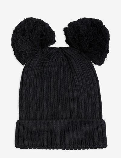 Ear hat - muts - black