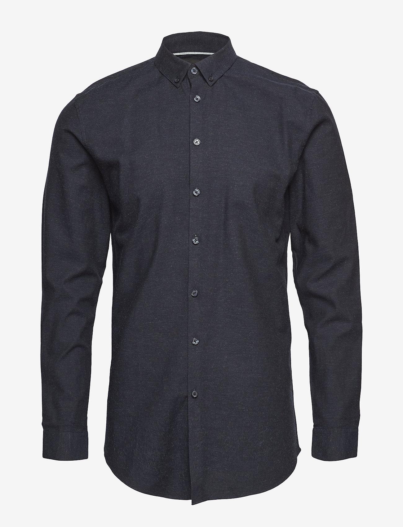 Minimum - mario - chemises business - dark navy mel