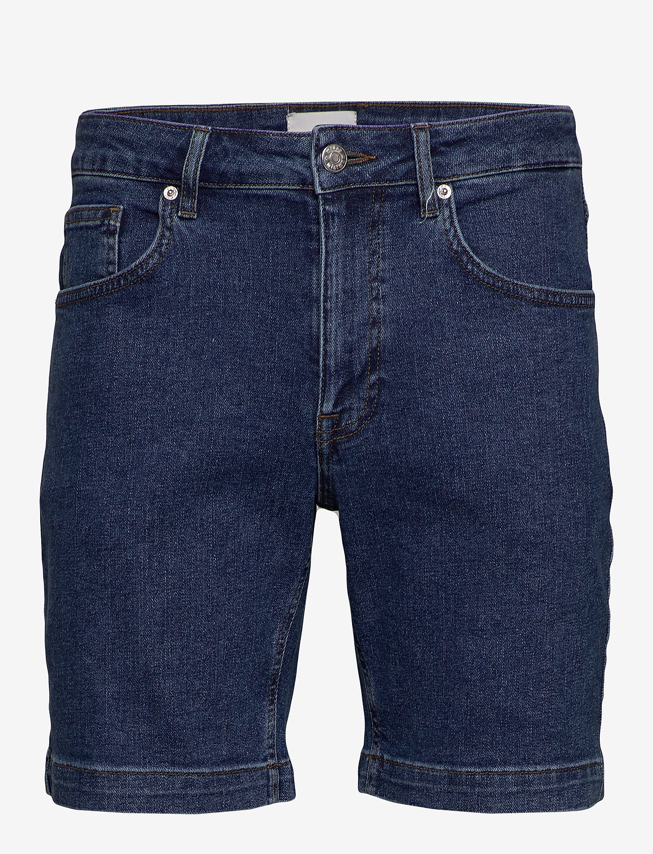 Minimum - samden - denim shorts - dark blue - 0