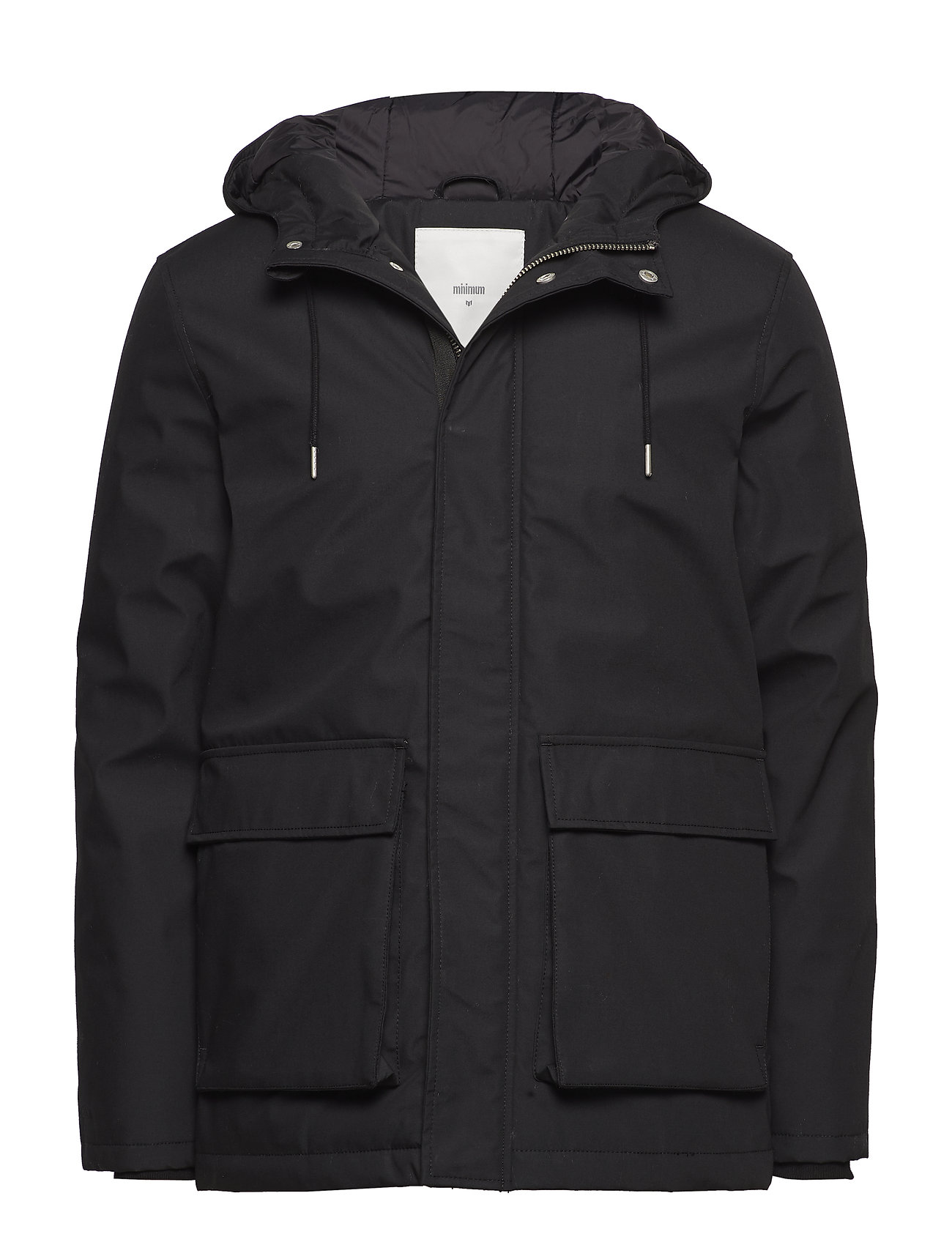 MINIMUM Carlow 3.0 Parka Jacke Schwarz MINIMUM
