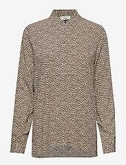 Minimum - Cresta - blouses à manches longues - navy blazer - 0