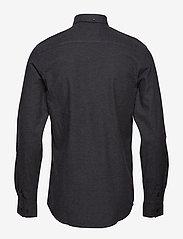 Minimum - jay 2.0 - basic overhemden - carbon mel - 1