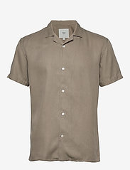 Minimum - emanuel - koszule lniane - khaki - 0