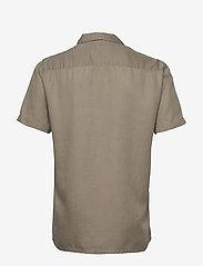 Minimum - emanuel - koszule lniane - khaki - 1