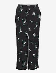 Minimum - Ingelil - pantalons larges - black - 0