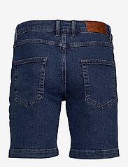 Minimum - samden - denim shorts - dark blue - 1